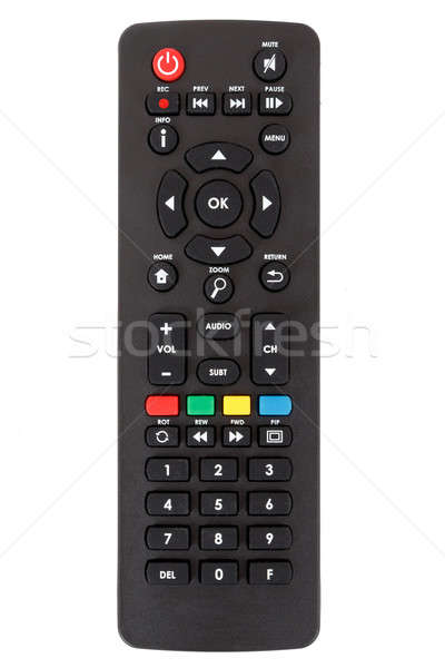 android set top box TV remote control isolated Stock photo © artush