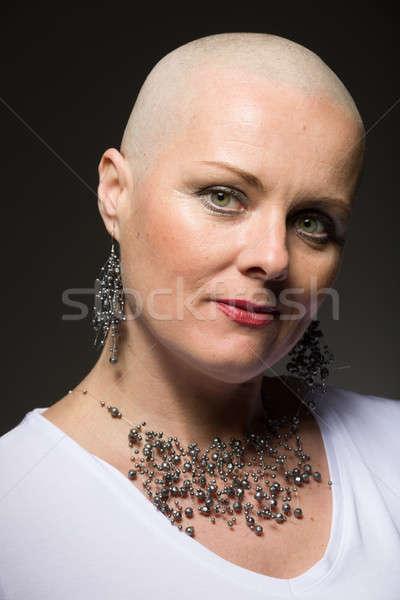 美人 がん 患者 髪 肖像 美しい ストックフォト © artush