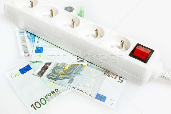 save money with energy saving Stock photo © artush