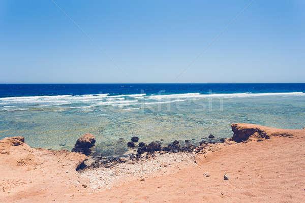 Red sea coastline, Egypt Stock photo © artush