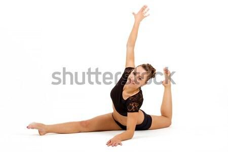 молодые профессиональных гимнаст женщину красоту Сток-фото © artush