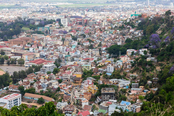Antananarivo cityscape, Tana, capital of Madagascar Stock photo © artush