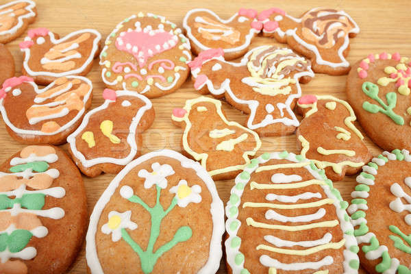 Easter gingerbreads collection Stock photo © artush
