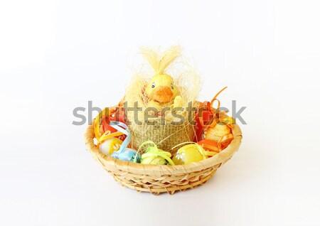 黄色 イースター 装飾 小 カモ 白 ストックフォト © artush