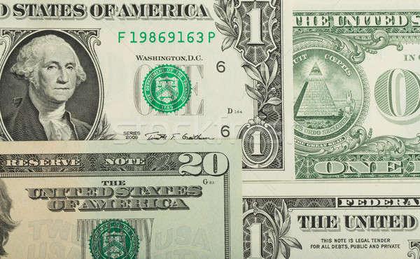 USA dollar money banknotes texture background Stock photo © artush