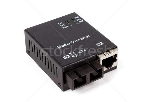 mini fiber optic Media converter  Stock photo © artush