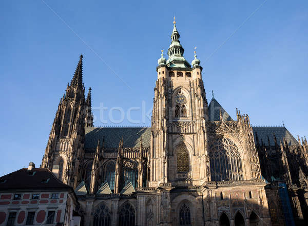 st. vitus cathedral in prague czech republic  Stock photo © artush