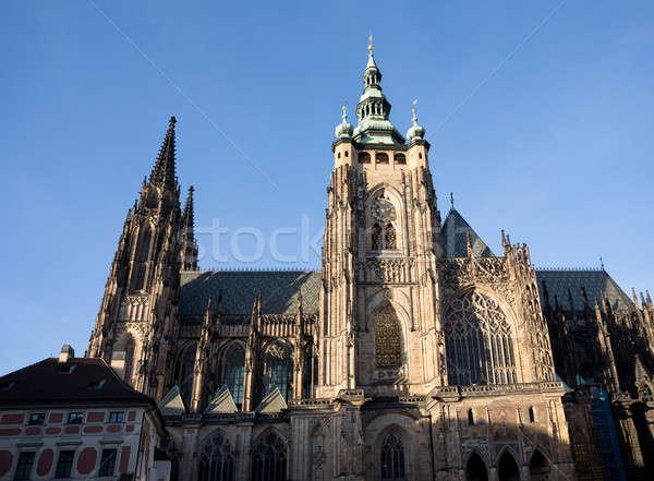 собора Прага Чешская республика известный исторический декабрь Сток-фото © artush