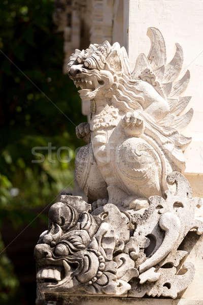 Statue detail Hindu temple Stock photo © artush