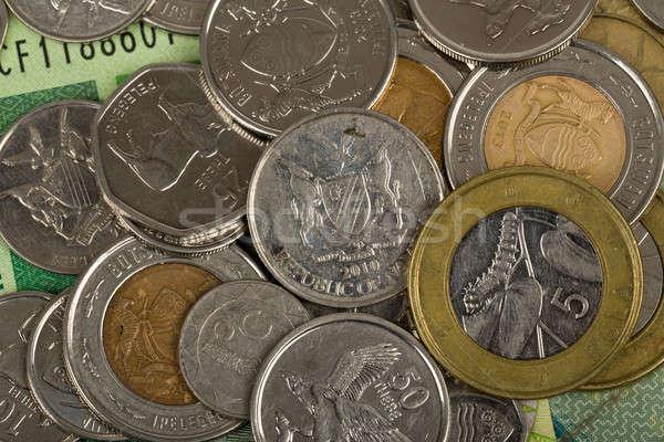 Países notas moedas Botswana dólar Foto stock © artush