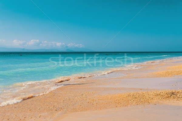 Rüya plaj bali Endonezya ada kum Stok fotoğraf © artush