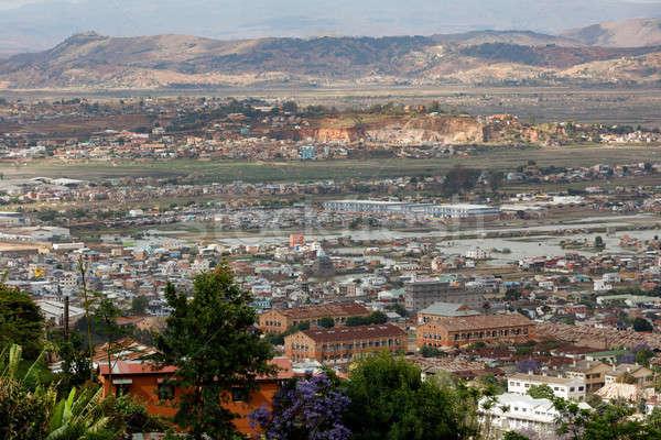 Cityscape Мадагаскар короткий бедные город Сток-фото © artush