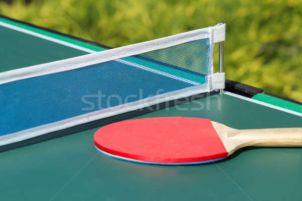 small child table tennis Stock photo © artush