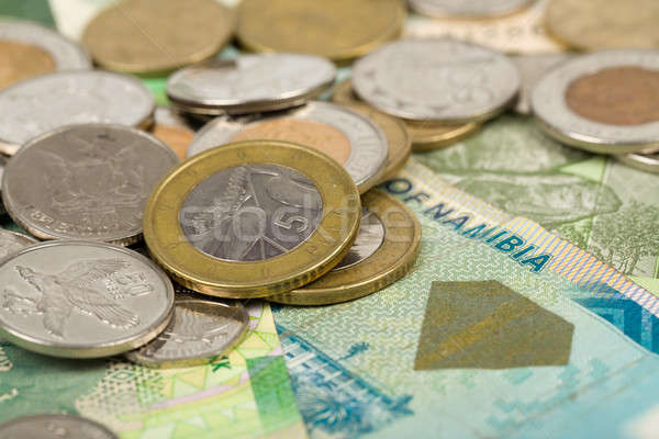 South african countries banknotes Stock photo © artush