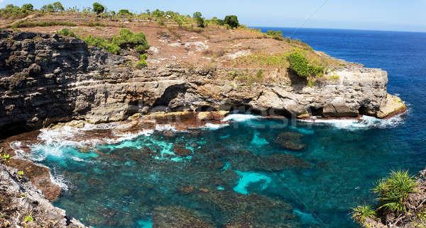 coastline at Nusa Penida island Stock photo © artush