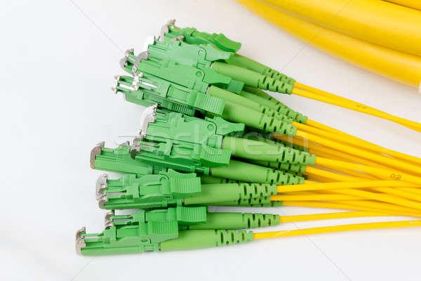 fiber optic E2 (LSH) pigtail, patchcord Stock photo © artush