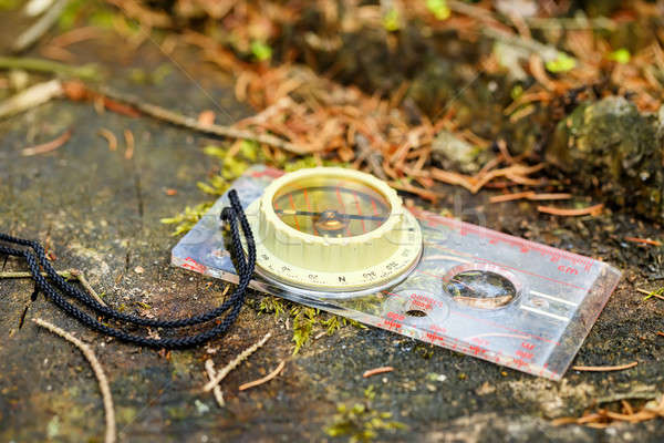 old touristic compass Stock photo © artush
