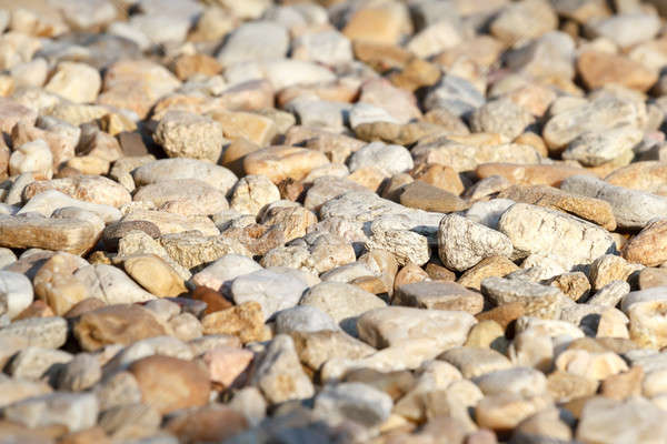 pebbles with shallow focus Stock photo © artush