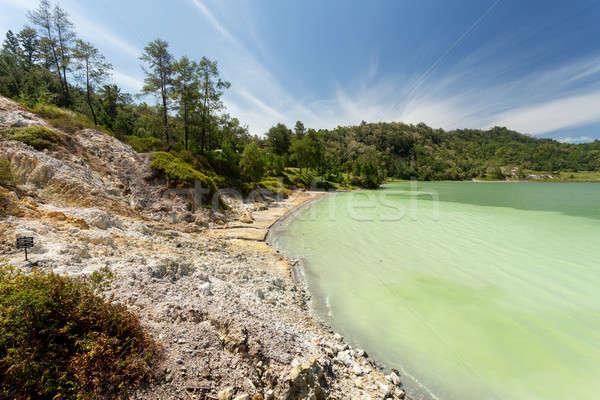 sulphurous lake - Danau Linow Stock photo © artush