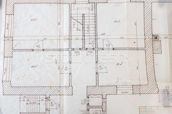 Architectural plans  Stock photo © artush