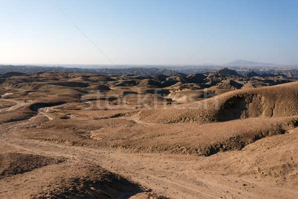 Panorama Namibya bölge yol doğa manzara Stok fotoğraf © artush