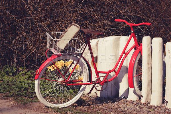 unroadworthy retro bicycle Stock photo © artush