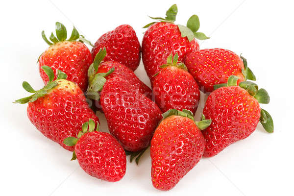 Friss eprek izolált fehér étel gyümölcs Stock fotó © artush