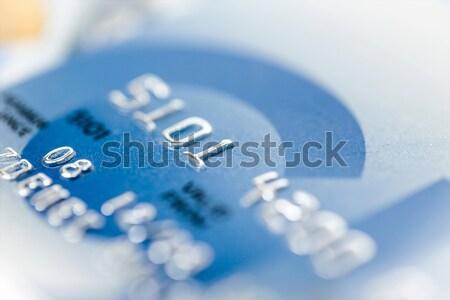 Kredi kartları seçici odak sığ odak iş Stok fotoğraf © artush