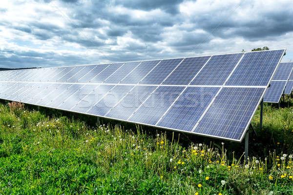 Solar energy panels Stock photo © artush