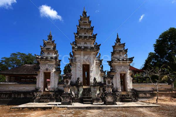 Tempio bali Indonesia uno tre panorama Foto d'archivio © artush