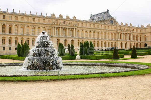 fountain in castle chateau Versailles Stock photo © artush