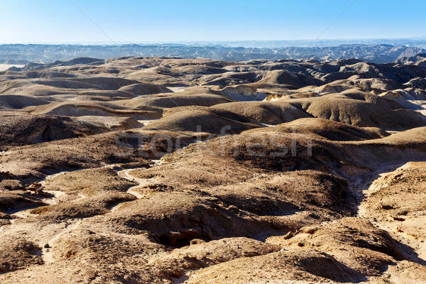 Stock photo: fantrastic Namibia moonscape landscape, Eorngo