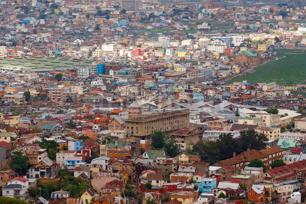central Antananarivo cityscape, Tana, capital of Madagascar Stock photo © artush