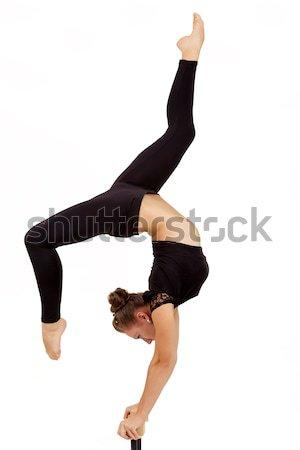 小さな プロ 体操選手 女性 美 ストックフォト © artush