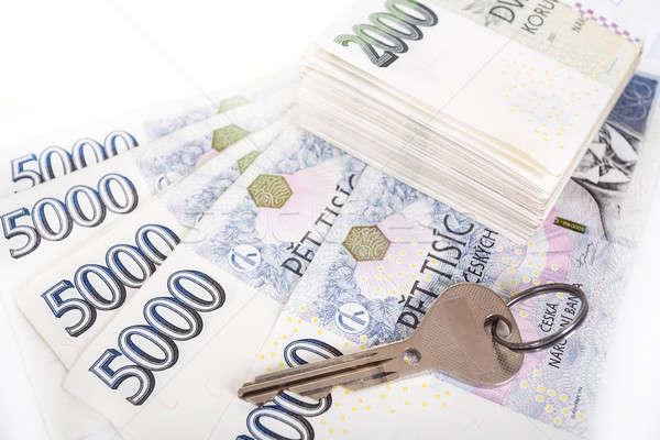 czech banknotes crowns Stock photo © artush