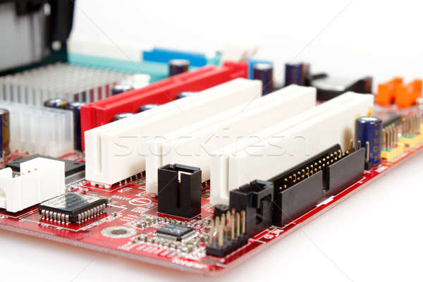 computer motherboard Stock photo © artush