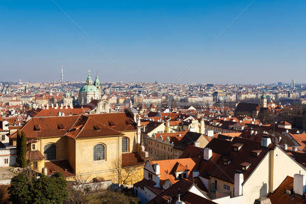 Prague city photo Stock photo © artush