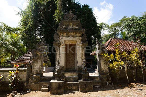 Hindu temple at Pura Sahab, Nusa Penida, Bali, Indonesia Stock photo © artush