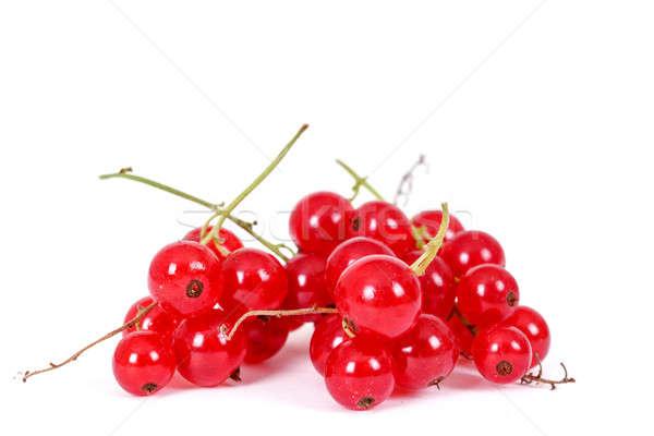 Karpuzu kırmızı frenk üzümü beyaz Stok fotoğraf © artush