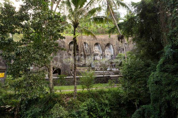 Tempel bali Indonesië asia oude rivier Stockfoto © artush