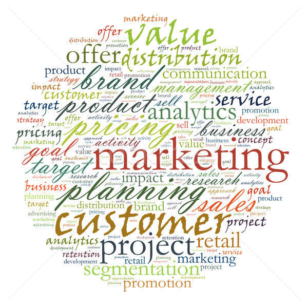 ストックフォト: 実例 · マーケティング · ビジネス · 単語 · 販売