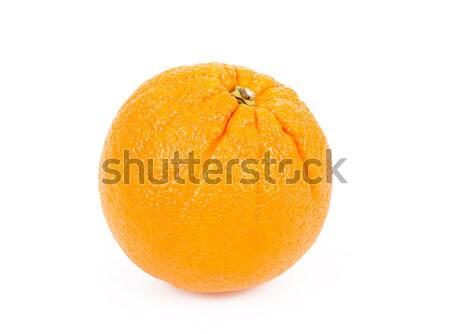 świeże pomarańczy odizolowany biały pomarańczowy skóry Zdjęcia stock © artush