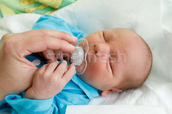 Сток-фото: ребенка · больницу · первый · Новая · жизнь