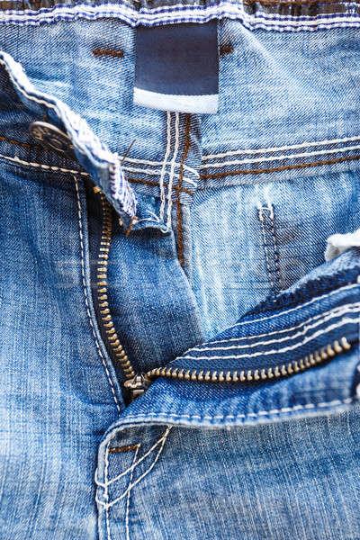 zip on jeans Stock photo © artush