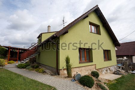 repaired rural house Stock photo © artush