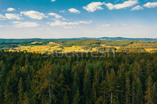 Tcheco paisagem Canadá lugar Foto stock © artush
