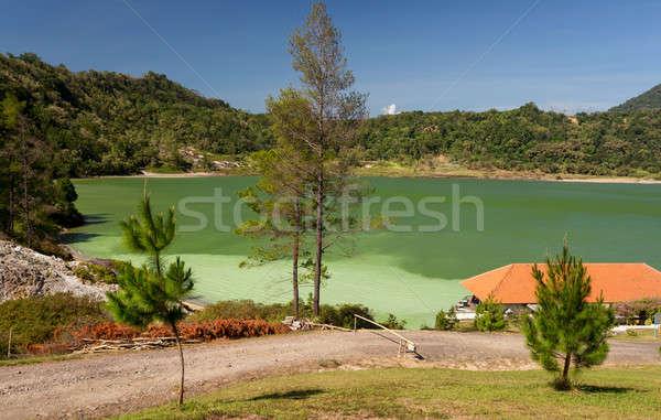 озеро Индонезия известный туристическая достопримечательность север облака Сток-фото © artush
