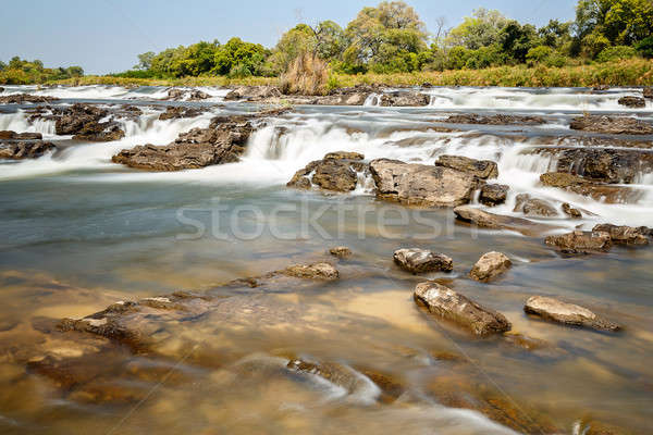ünlü kuzey Namibya uzun pozlama su güzellik Stok fotoğraf © artush