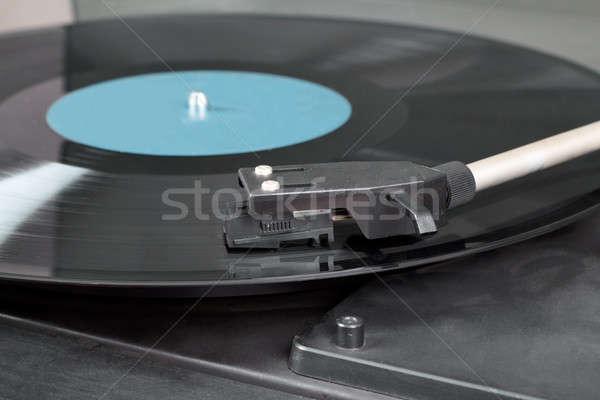 ヴィンテージ レコードプレーヤー ビニール 画像 詳細 ストックフォト © artush