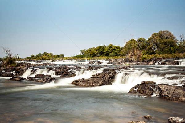 有名な 北 ナミビア 長時間暴露 水 美 ストックフォト © artush
